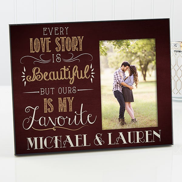 Personalized Picture Frame - Romantic Our Love Story - 14859