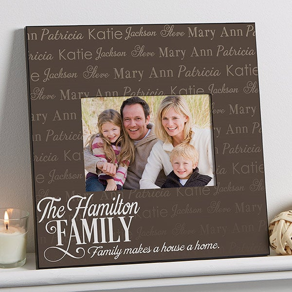Personalized 5x7 Wall Frame - Family Is Love - 14868