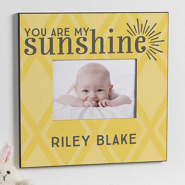 You Are My Sunshine Personalized Picture Frame 5x7
