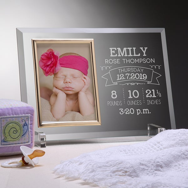Personalized Baby Frame - I Am Special Birth Announcement - 14911