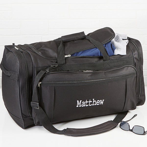 caa999e67f23 Deluxe Weekender Embroidered Duffel Bag