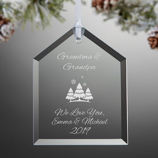 Personalized Gl House Christmas Ornament Create Your Own 15151