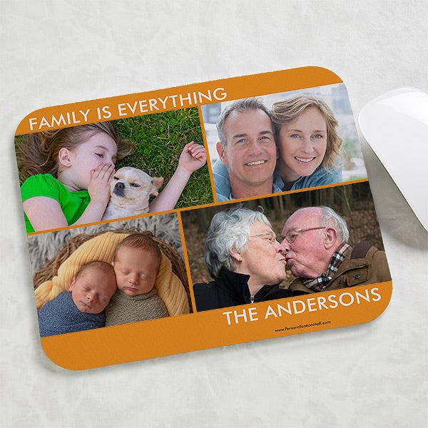 Personalized Photo Mouse Pad - Picture Perfect - 15199