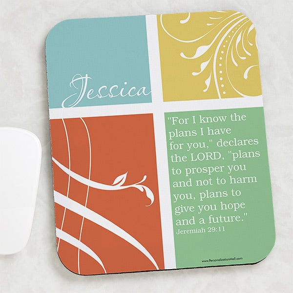 Personalized Mouse Pad - Inspirational Faith - 15204