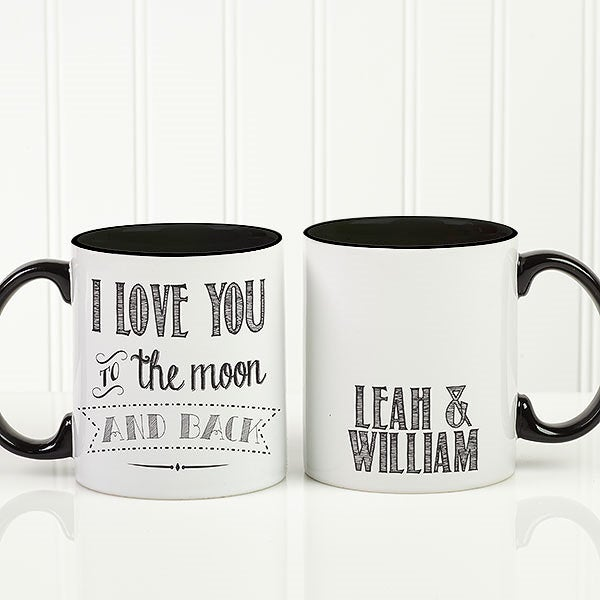 Personalized Romantic Coffee Mug - Love Quotes - 15316