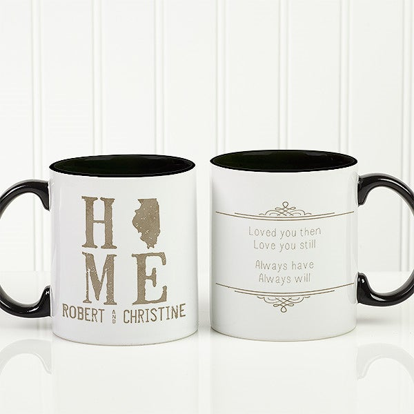 Personalized Romantic Coffee Mug - State Of Love - 15317