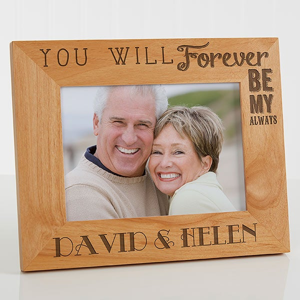 Personalized Wood Picture Frame 60x60 Love Quotes Valentine's Day Gifts Unique Love Quote Picture Frames