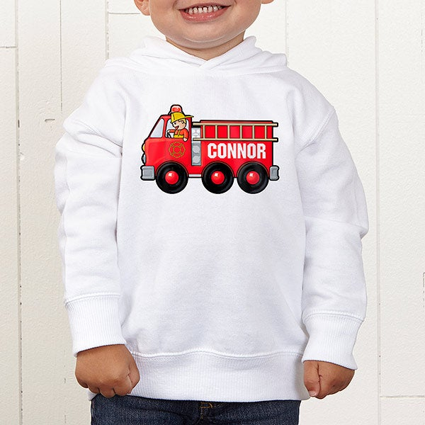 Personalized Jr. Firefighter Kids Apparel - 15413