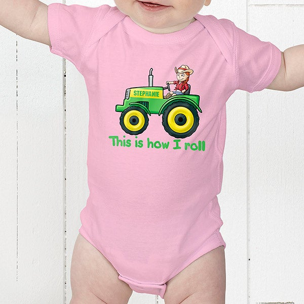 Personalized Kids Clothes - Farm Tractor - 15414
