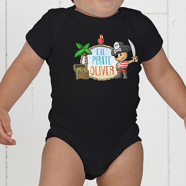 Personalized Kids Clothes - Lil' Pirate - 15415