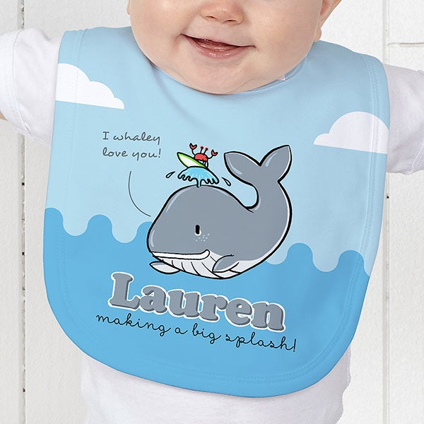 Personalized Kids Apparel - Lovable Whale - 15428
