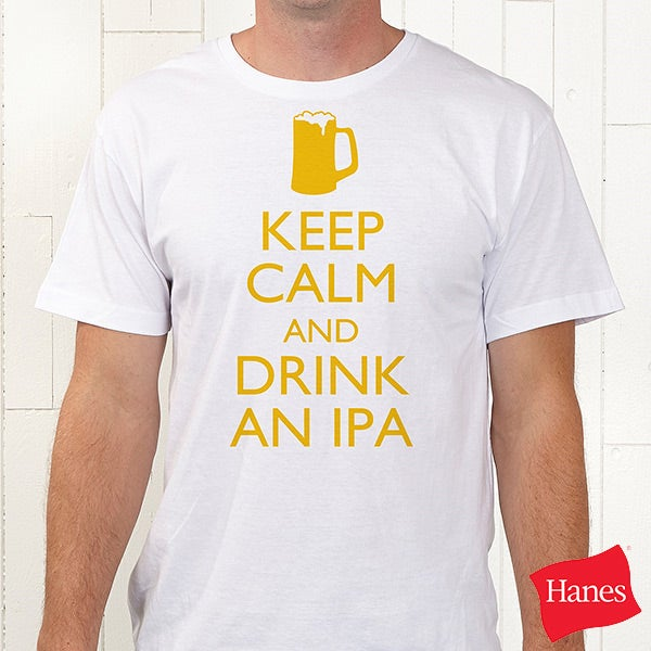 Personalized Keep Calm Apparel - 15458