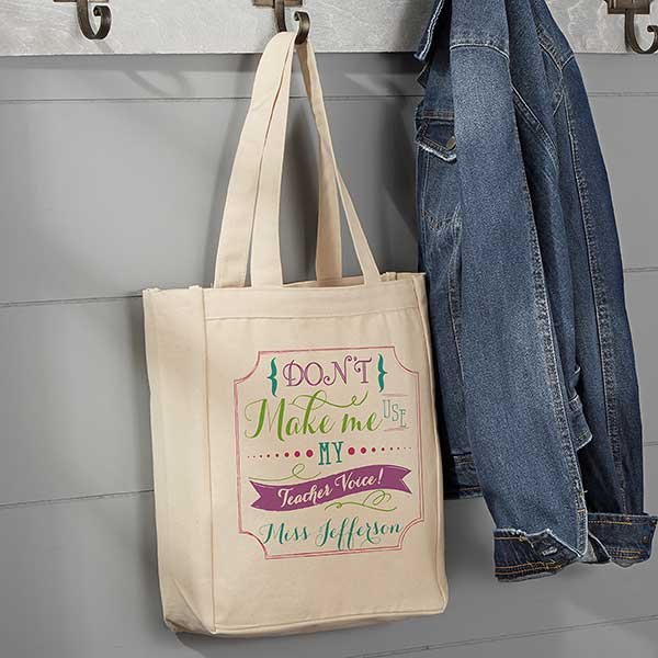 Canvas Shopping Tote Bag Teachers Who Love Teaching Profession Education /& Teachers Beach for Women