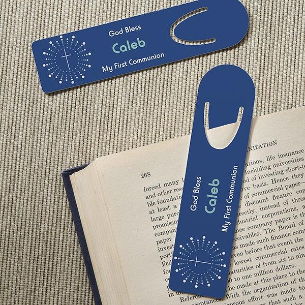 Personalized Religious Bookmark Set - God Bless - 15510