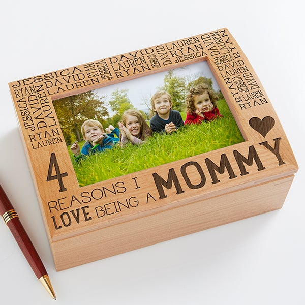 Personalized Photo Keepsake Box - Reasons Why - 15542