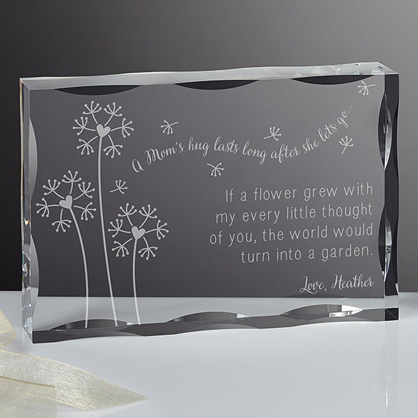 Personalized Mother's Day Keepsake - A Mom's Hug - 15577