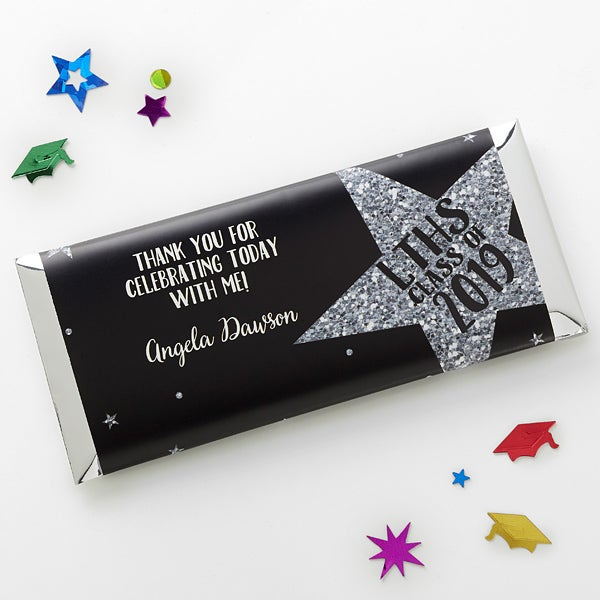 Personalized Graduation Candy Bar Wrappers - Shining Star - 15619