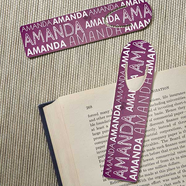 Personalized Bookmark Set - My Name - 15707