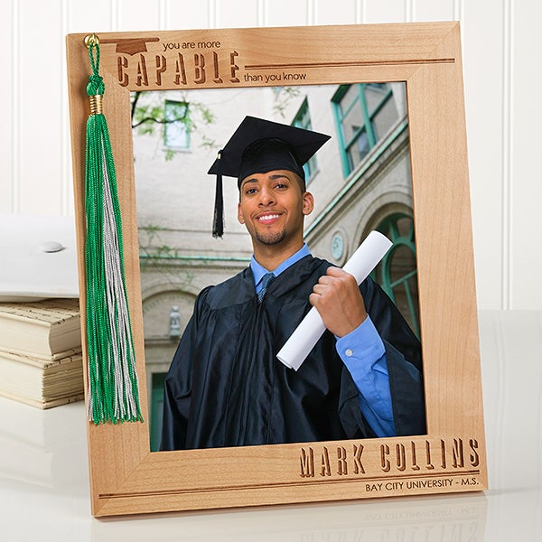 Personalized Graduation Frame Graduation Tassel Display 8x10
