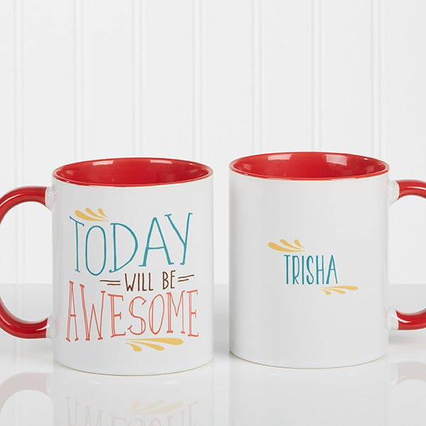 Personalized Coffee Mug - Daily Cup Of Inspiration - 15783