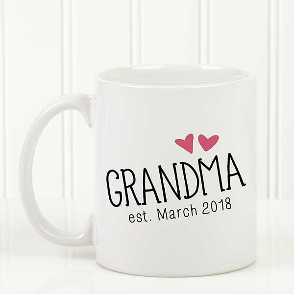 Personalized Coffee Mug - Grandparent Established - 15784