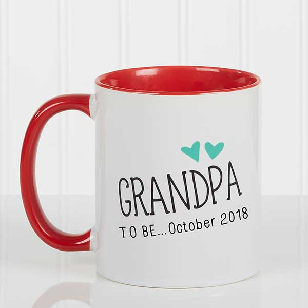 Personalized Coffee Mug - Grandparent Established - 15784