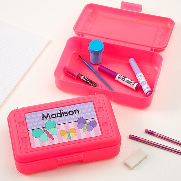 Personalized Pencil Box - Just For Her - 15875