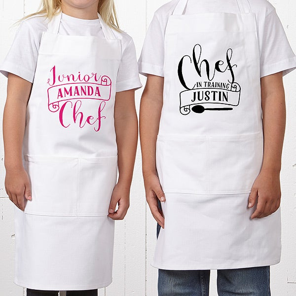 Personalized Kids Apron - Chef In Training - 15882