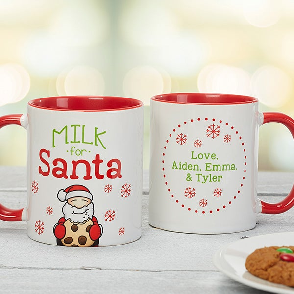 Personalized Christmas Cookies & Milk For Santa Collection - 15915