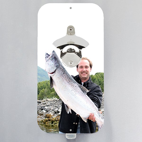 Personalized Magnetic Bottle Opener - You Picture It! - 15984