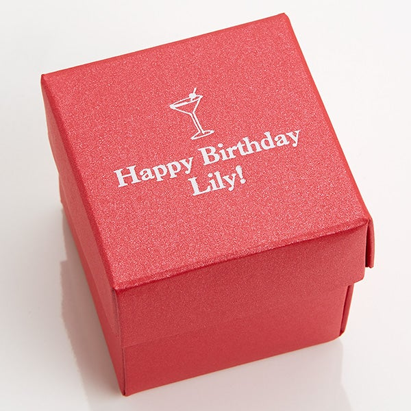 Personalized Birthday Party Favor Boxes - Party Time Stardream Box - 16008D