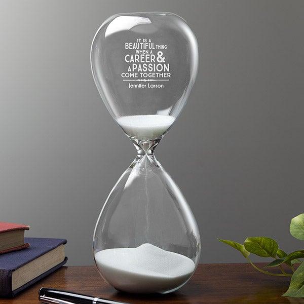 b049b8a364a Personalized Keepsake Hourglass - Professional & Passionate - 16034