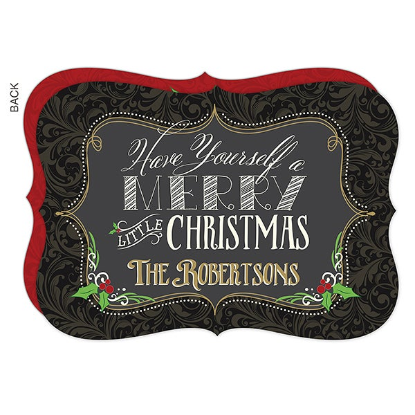 Personalized Christmas Cards - Merry Little Christmas - 16080