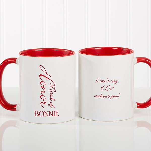 Personalized Wedding Coffee Mug - Bridal Brigade - 16127
