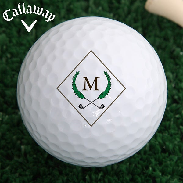 Personalized Golf Ball Set - Golf Pro Crest - 16132