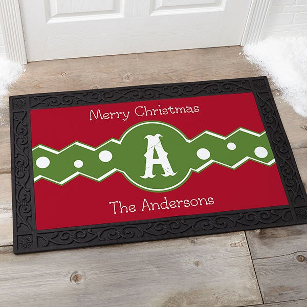 Personalized Christmas Doormats - Jolly Jester - 16207