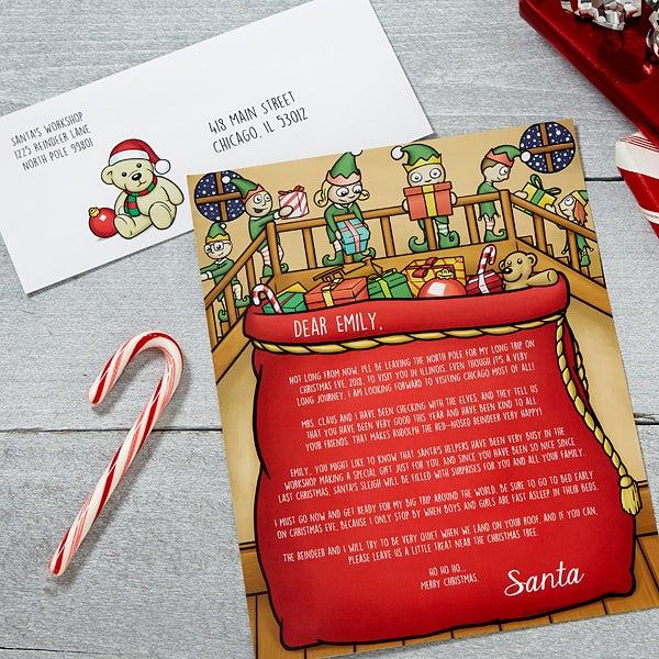 Personalized Letter from Santa - Santa's Helper - 16241
