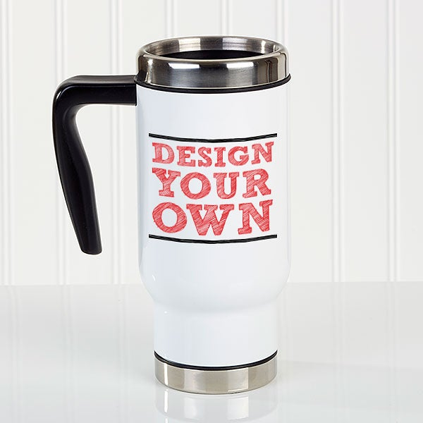 Design Your Own Personalized 14 Oz Commuter Travel Mug