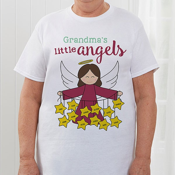 094b8cd6 Personalized Holiday Shirts - Her Angels - 16293