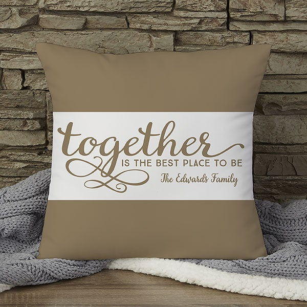 Custom 14 Pillow Together Is The