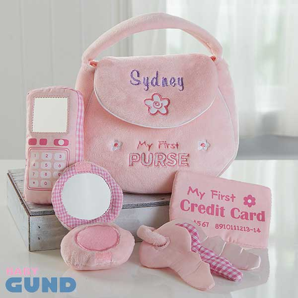 Personalized Girls First Toy Purse - Gund - 16372