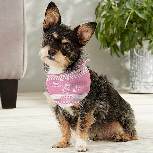 Personalized Dog Bandanas with Collar mothers day gift Dog Mom Bandana gift Dog Mom Gift Dog Collar with Bandana