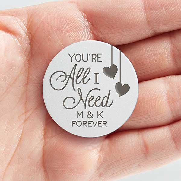 love token Token pocket token gift for him boyfriend gift