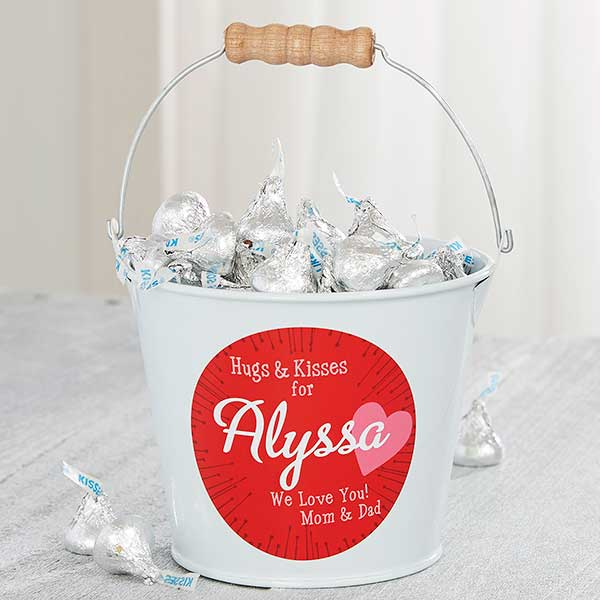 Personalized Valentines Day Bucket