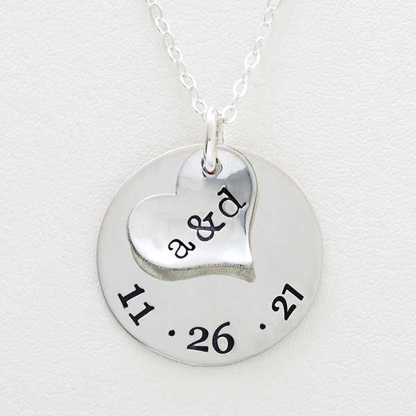 Custom Initials Necklace