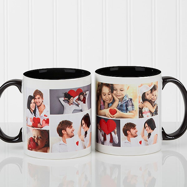 Custom Photo Collage Coffee Mugs - 16584