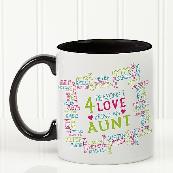 Personalized Ladies Coffee Mugs - Reasons Why - 16763