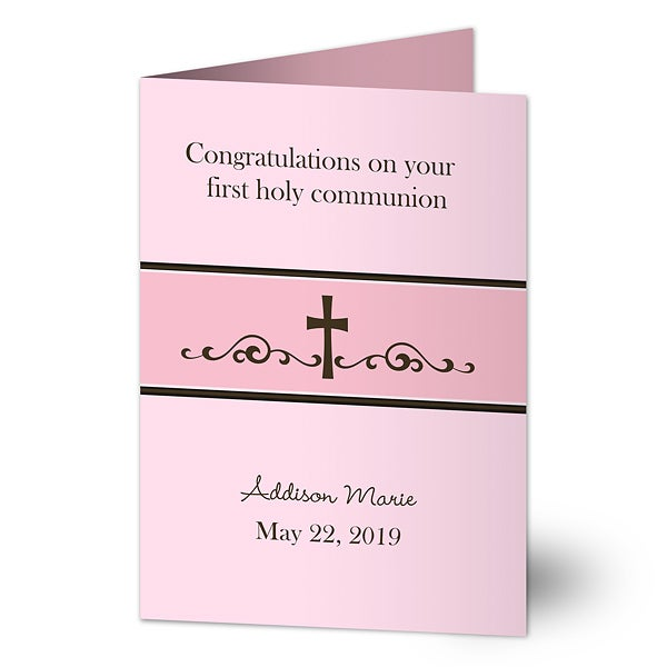 Personalized Religious Greeting Card - Precious Prayer - 16779