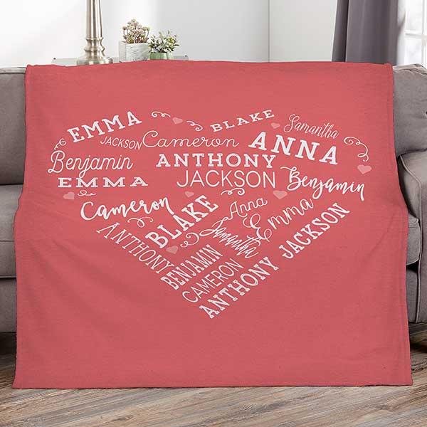 Best Friend Mother teacher embroidered personalised birthday keepsake cushion