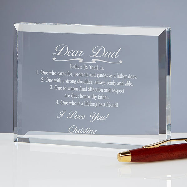 Engraved Keepsake For Dad - Nobody Like You - 16859